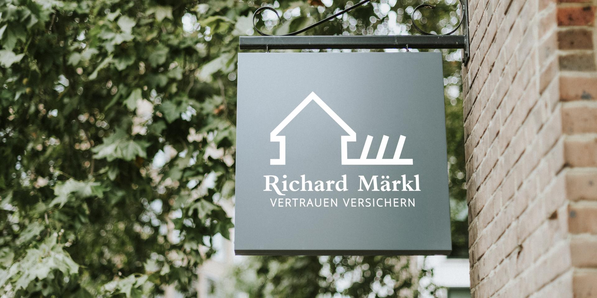Logogestaltung für Richard Märkl von Ricco Stange
